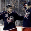 Blue Jackets Rookie Nets Natural Hat Trick