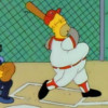 "The Simpsons ""Homer at the Bat"" (video)"