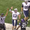 Video: BYU QB Riley Nelson High-fives a ref