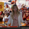 Erin Andrews Sucks It For Luck