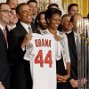 President Obama Hosts the Cardinals at the White House