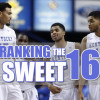 March Madness: Ranking the Remaining Teams In the Sweet 16