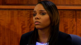 Watch: Aaron Hernandez' Fiancee Shayanna Jenkins Testifies Again in Murder Trial