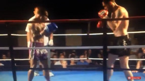 Spectacular Kickboxing Knockout Worth Watching