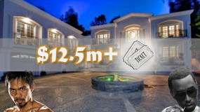 Manny Pacquiao Buys Diddy's LA Mansion For $12.5M and Fight Tickets