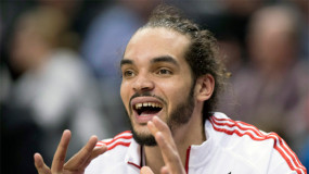 Watch: Raptors' DeMar DeRozan Passes to Wide Open….Joakim Noah?