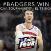 Watch: Wisconsin Advances To 2nd Straight Final Four, Kaminsky Goes Dancing