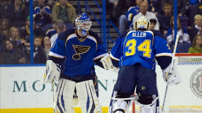 Unrest in Blues Locker Room? Allen Assumes Starting Role, Elliot Vocal About Benching