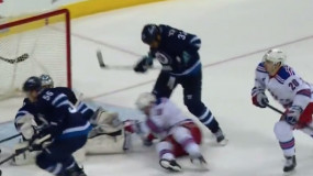 WATCH: Dustin Byfuglien Devastates J.T Miller with Cross-Check to Head