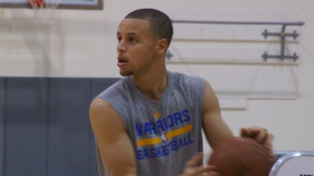 VIDEO: Steph Curry Nails 77 Straight Three-pointers During Practice