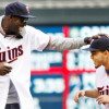 Watch: Final Four MOP Tyus Jones, Kevin Garnett Throw Out First Pitch At Twins Game