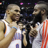 Harden a Longshot to Win Scoring Title Over Westbrook