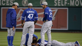 Yasiel Puig OK After Colliding With Teammate in Spring Training Game