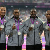 U.S. 4x100m Men's Relay Team Stripped of 2012 Olympic Silver