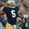Notre Dame's Everett Golson Transferring to Florida State