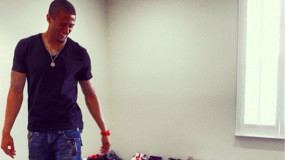 Look: 49er's Colin Kaepernick Has An Insane Shoe Collection in His Garage