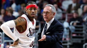 Larry Brown Wants Allen Iverson to Be Part of 76ers Front Office