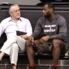 Heat Still Think LeBron Used Riley as Leverage Last Summer