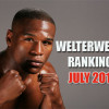 Welterweight Rankings for July 2015