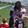 Jadaveon Clowney Returns to Practice