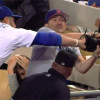 Fan Wrestles Adrian Gonzalez For Foul Ball