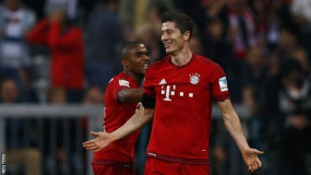 5 Goals In 9 Minutes for Robert Lewandowski
