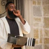 James Harden Receives Truck Load Of Adidas Shoes