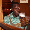 Usain Bolts' Enjoying Oktoberfest