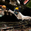 Pacers Mascot's Head Falls Off During Dunk