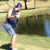 Dirk Nowitzki Needs To Work On His Golf Swing