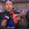 Munenori Kawasaki Gives Great Drunk Interview After Jays Clinch Division Title (Video)