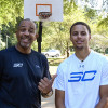 Steph Curry Dominates His Dad In A Game of H-O-R-S-E