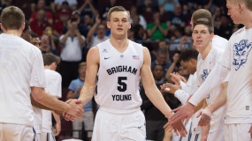 BYU's Kyle Collinsworth Break's Shaq's NCAA Record For Triple-Doubles(7) vs Belmont