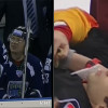 Scary Scenes In The KHL – Throat Slashed By A Blade And Slapshot To The Face