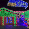 Seahawks Fans' Tribute In Christmas Lights