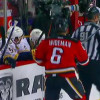 Calgary Flames' Dennis Wideman Plows Into Referee From Behind