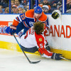 NHL Suspends Oilers' Hendricks For Hit On Panthers' Ekblad