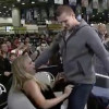 Gronk Gives Fox Sports 1 Reporter Lap Dance (Video)
