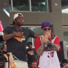 Dwyane Wade Jumps On Stage With Vanilla Ice
