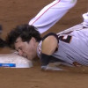 Watch Buster Posey Faceplant into Third Base