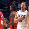 Blake Griffin Throws Shoe, Hits Corey Joseph in The Face