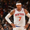 Carmelo Anthony Seems to be Getting Suspicious of Knicks President Phil Jackson