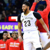Anthony Davis Gets Injured Again During Pelicans' Loss to Pacers