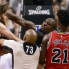 Robin Lopez Expects to be Suspended After Fighting with Serge Ibaka During Bulls' Loss to Raptors