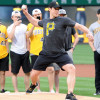 Watch: Crosby Throws out 1st Pitch at Pirates Game