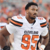 Cleveland Browns' Myles Garrett has High Ankle Sprain