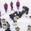 Habs Danault Released from Hospital after Taking Slap Shot to Head