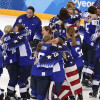 U.S. Beats Canada in Shootout for Women's Hockey Gold