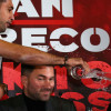 Amir Khan Throws Water at Phil Lo Greco During Press Conference