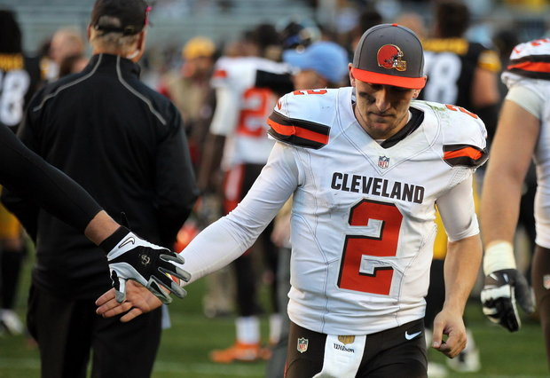 Johnny Manziel Gets A Cleveland Browns Farewell Tribute